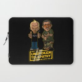Unspoken Telepathy Laptop Sleeve