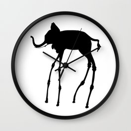 Salvador Dali Elephant, 1944 Dream Artwork Reproduction, Design, Tshirts, Posters, Jerseys Wall Clock