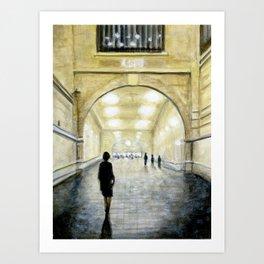 Grand Central, New York Art Print