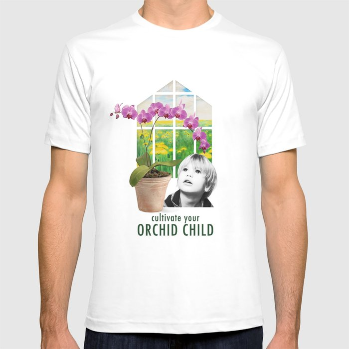 Cultivate Your Orchid Child T-shirt