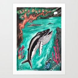 Coromandel  Coast By Night Art Print