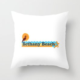 Bethany Beach - Delaware. Throw Pillow