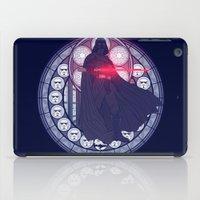 darth vader iPad Cases featuring Darth Vader  by NicoleGrahamART