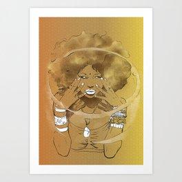 Aire de las Nieves Art Print