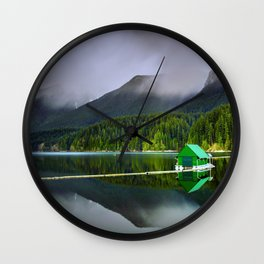 Vancouver Capilano Mountains Wall Clock