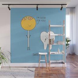 Sweet lies Wall Mural