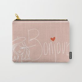 bonjour girl Carry-All Pouch