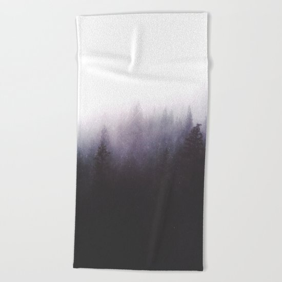 faded ghosts Beach Towel