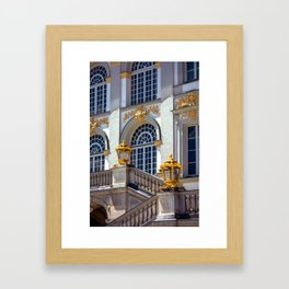 Windows of Nympfenburg Framed Art Print