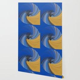 Prairie oak swirl Wallpaper