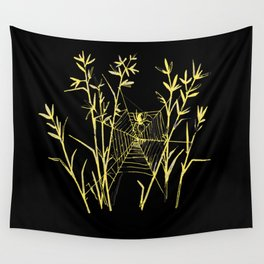 Said the Spider to the Fly Wall Tapestry