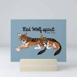 Red Wolf Spirit #1 Mini Art Print