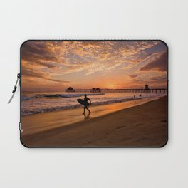 Surf City Sunsets   9/10/15   Huntington Beach California  Laptop Sleeve
