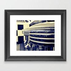 Classic cafe Framed Art Print
