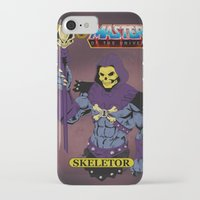 skeletor iPhone & iPod Cases featuring Skeletor by W. Keith Patrick