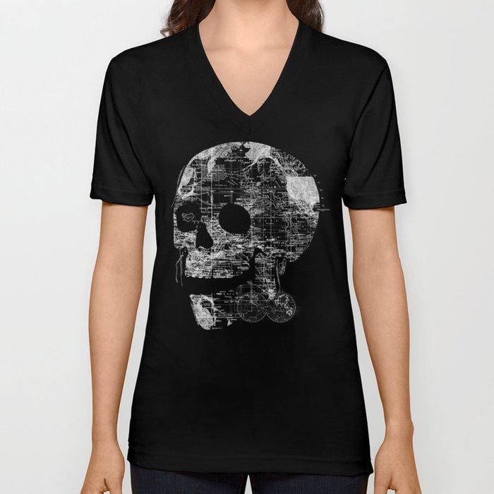 Skull Wanderlust Unisex V-Neck