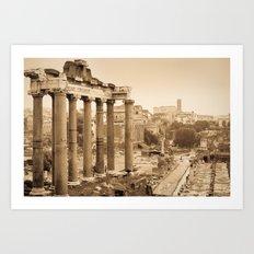 Roman Forum 1 Art Print