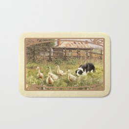 Farmyard Fun Bath Mat