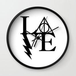 HP love Wall Clock