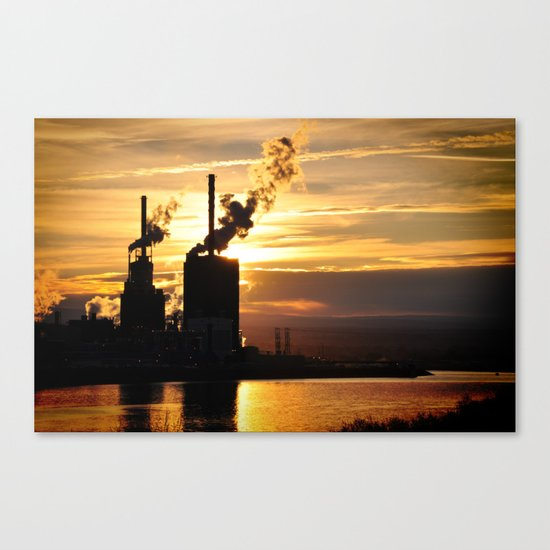 At What Cost Canvas Print