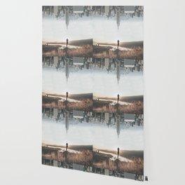 Between Earth & City Wallpaper