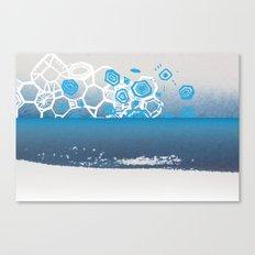 water crystals Canvas Print