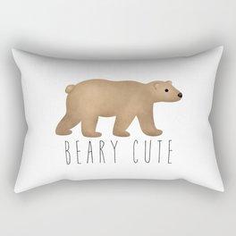 Beary Cute Rectangular Pillow