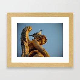 Sant'Angelo Statue 5 Framed Art Print