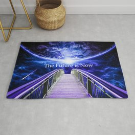 The Future is Now Rug