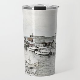 Fish Town Travel Mug