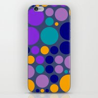 dots iPhone & iPod Skins featuring Dots by Aloke Design