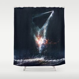 They lied to me Shower Curtain