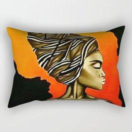 African Queen Rectangular Pillow