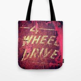 4 Wheel Drive Tote Bag