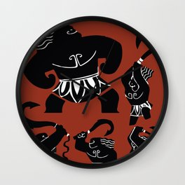 Moana, Animated Movie Poster, Oceania, Vaiana, minimal, alternative, film, playbill, 3D cartoon Wall Clock