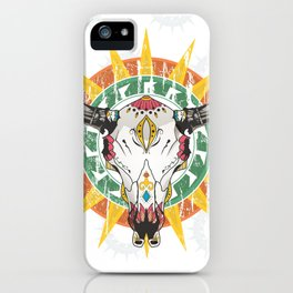 Colorful Skull iPhone Case