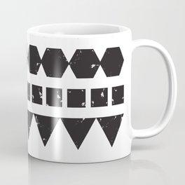 A Mix of Squares Triangles & Hexagons Coffee Mug