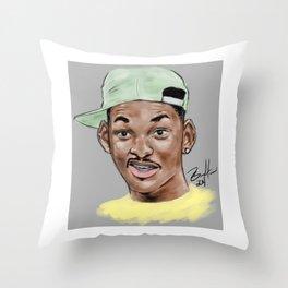 Fresh Prince Throw Pillow