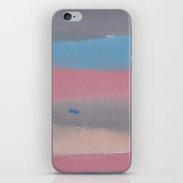 11 | 1903011 Watercolour Abstract Painting | Muted Colours iPhone Skin