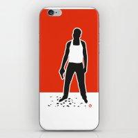 die hard iPhone & iPod Skins featuring DIE HARD by Alain Bossuyt