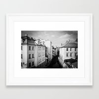 prague Framed Art Prints featuring Prague by Alexandra Pandrea