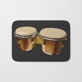 Bongos Drums Bath Mat
