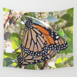 Monarch Mating Wall Tapestry