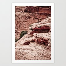 THE HEART OF THE MOUNTAINS Art Print