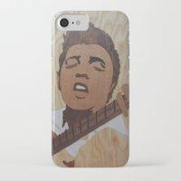 elvis presley iPhone & iPod Cases featuring Elvis Presley  by Andulino