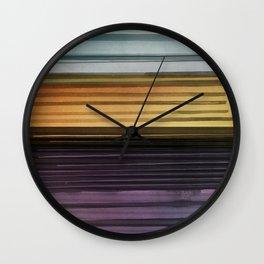 Amanda Wants Stripes Wall Clock