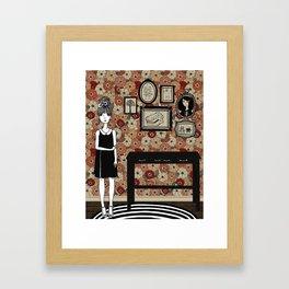 Madeleine's Hallway Framed Art Print
