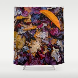 October Understory Shower Curtain