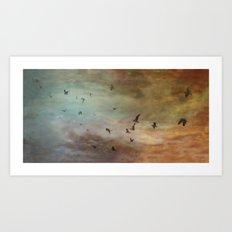 Bird Panel I Art Print
