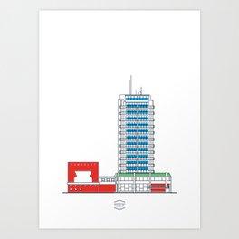 CCS_HotelHumboldt Art Print
